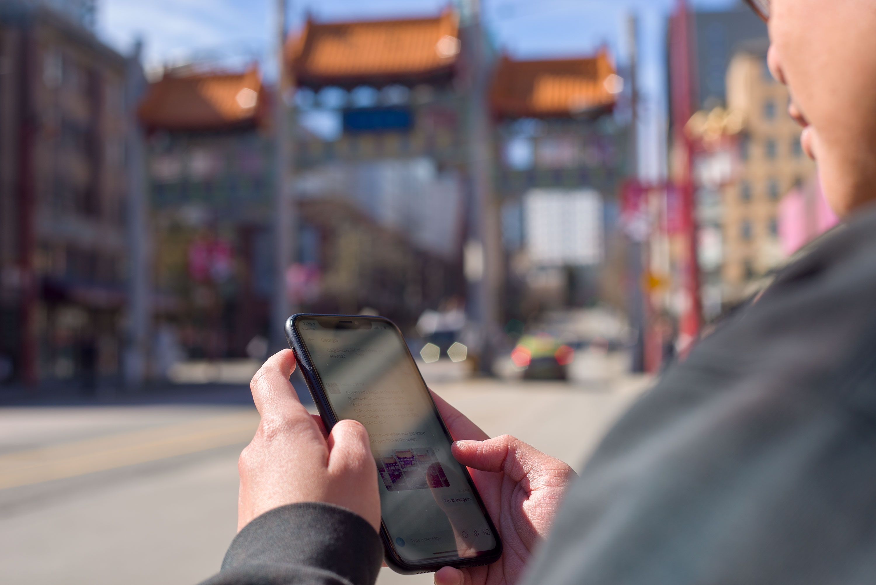 Georgia chatbot being used at Chinatown gates